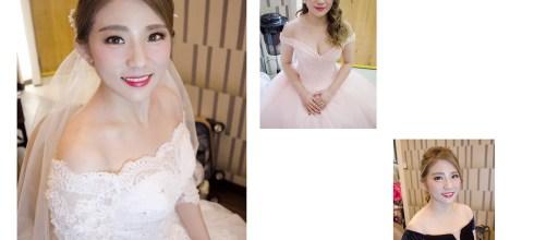 台南新娘秘書│貴氣千金風格的新娘妝容造型