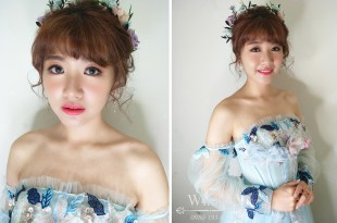 台南新娘秘書│田園氣質的仙女晚禮服造型
