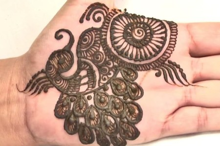 create indian pea mehndi design tattoo.1280x600
