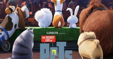 【電影】寵物當家 // 玩具總動員的動物版,角色可愛,劇情歡樂