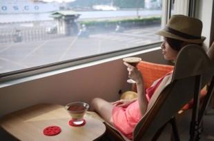 基隆 Loka Café 港邊瘋景,午茶時光咖啡、鹹派與堤拉米蘇!