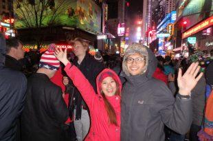 美國紐約|別去紐約時報廣場跨年的3個理由。(此生唯一包尿布跨年就在時代廣場)