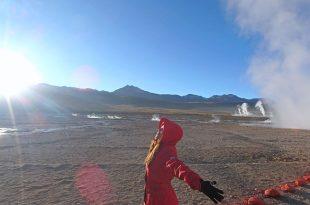 智利沙漠行程|沙漠溫泉之旅,間歇泉Geyser del Tatio!沙漠冒險Day3。阿塔卡馬沙漠San Pedro De Atacama