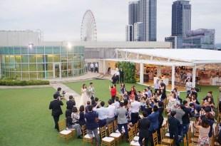 戶外婚禮|大直典華DENWELL SKY 1,台北市區最美戶外花園秘境,夕陽星空下說著Yes I do
