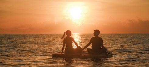 我在太平洋,與日光說早安 台東都蘭SUP Daily 立槳旅行