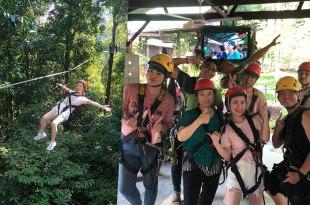 蘭卡威行程|高空滑索超刺激!叢林裡的華麗冒險之旅,學泰山歐伊歐~