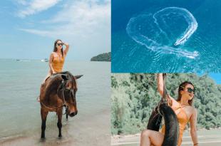 檳城景點|Monkey Beach美猴灘、海龜灘,騎馬、水上摩托車、香蕉船,迎接盛夏海灘!
