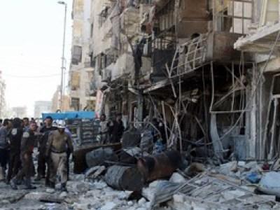 مقتل 12 مدنيا على الأقل فى غارات على شرق حلب