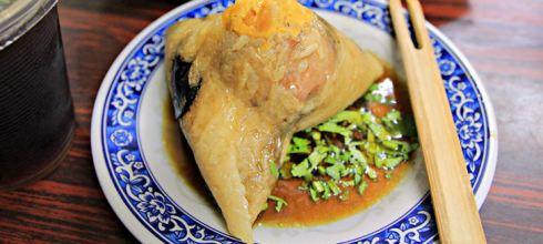 端午節必吃精選!「全台6家知名肉粽大評比」第三家肉粽出高招,吃得到鮑魚和干貝!
