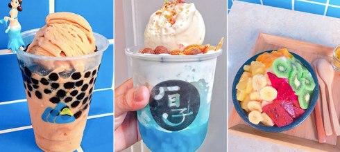 「全台13間夏日必吃冰品」高雄這家超可愛卡通甜筒一個銅板就吃得到,台中的冰品都過分的美!