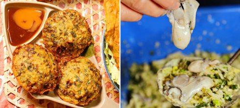 「蚵仔控必吃的6大蚵美食」邊看日月潭美景邊吃五味鮮蚵,還有用料十足的蚵嗲小吃!