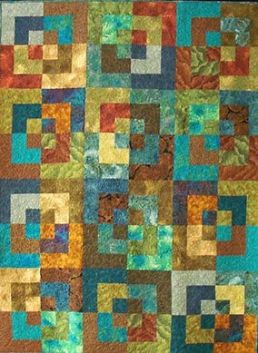 Bento Box Wall Quilt or Lap Quilt
