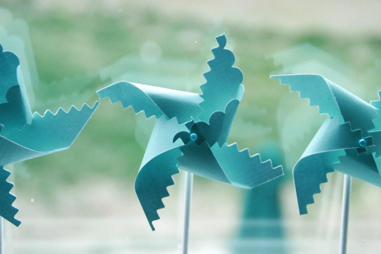 robins egg blue wedding pinwheel favors tiffany blue wedding zoom