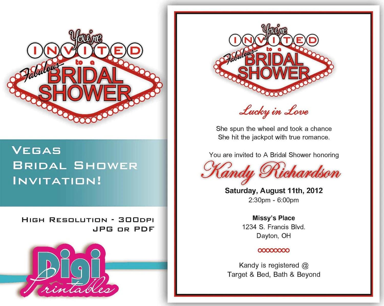 bridal shower invitation las vegas vegas wedding invitations zoom