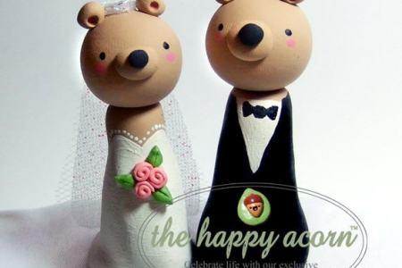 Il Fullxfull346140469 570xn376490870 K5f4 Teddy Bear Wedding Cake Topper