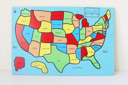 reserved united states puzzle map kids toy by kitschcafe