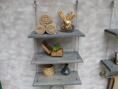 Medium Of Bathroom Decorative Shelves