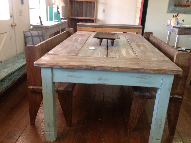 farmhouse table country kitchen tables Large farmhouse table