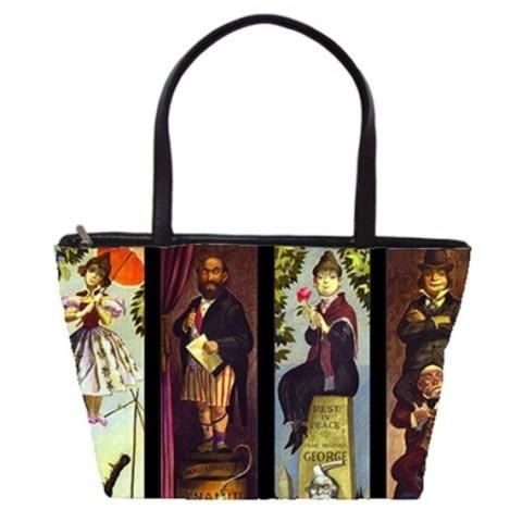Haunted Mansion Stretching Room Bag Handbag Purse