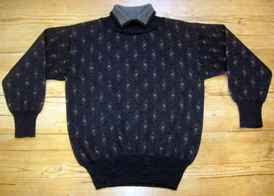 Collared Sweater -- Vinta...