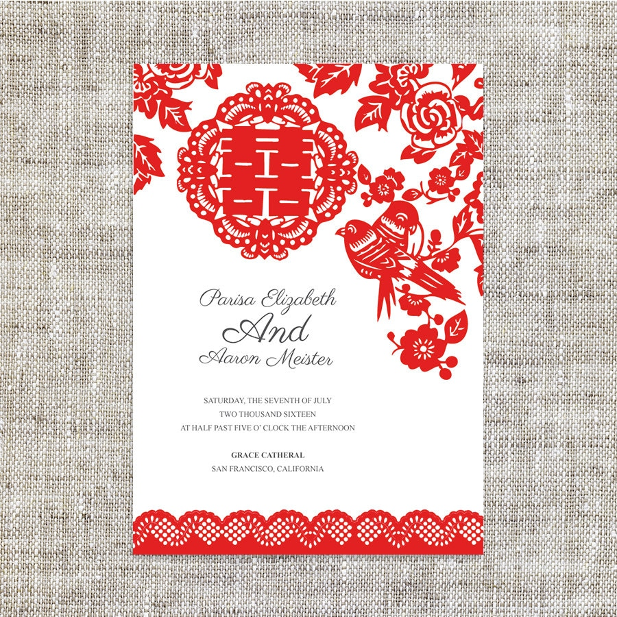 traditional chinese wedding invitation wording template chinese wedding invitation Wedding Invitation Card In Chinese Inspiring