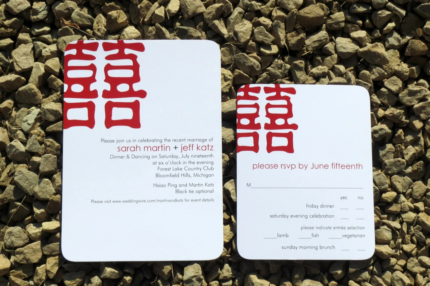 chinese wedding invitations chinese wedding invitation Chinese Wedding Invitation Red Wedding Invitation Double Happiness