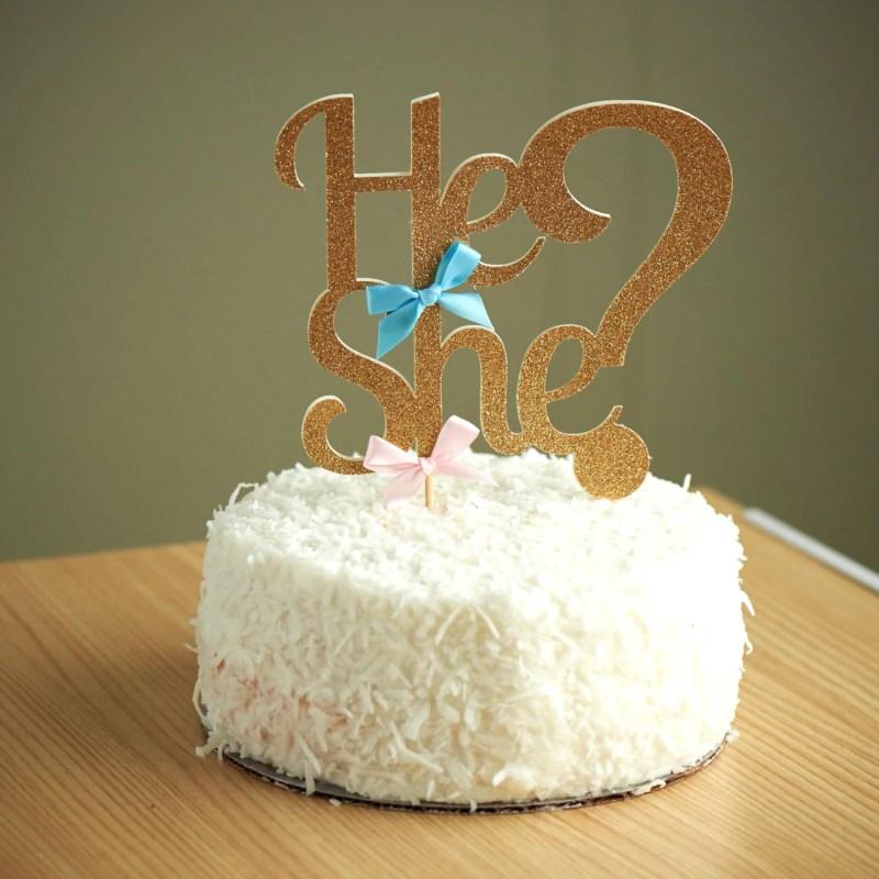 Large Of Gender Reveal Cake Ideas