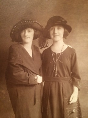 Friends Sepia Tone Photograph 1900s
