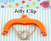 "Jelly Clip - Orange - 5.5"""