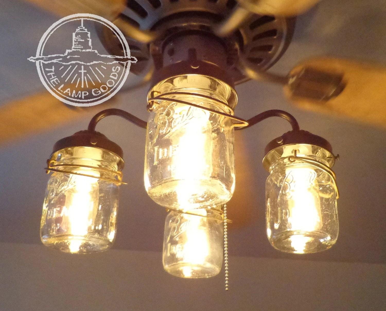 ceiling fan light kit vintage canning kitchen fan light zoom
