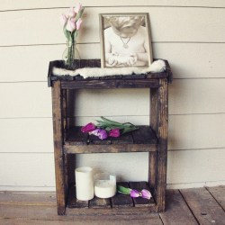 Small Of Wooden Bathroom Shelf
