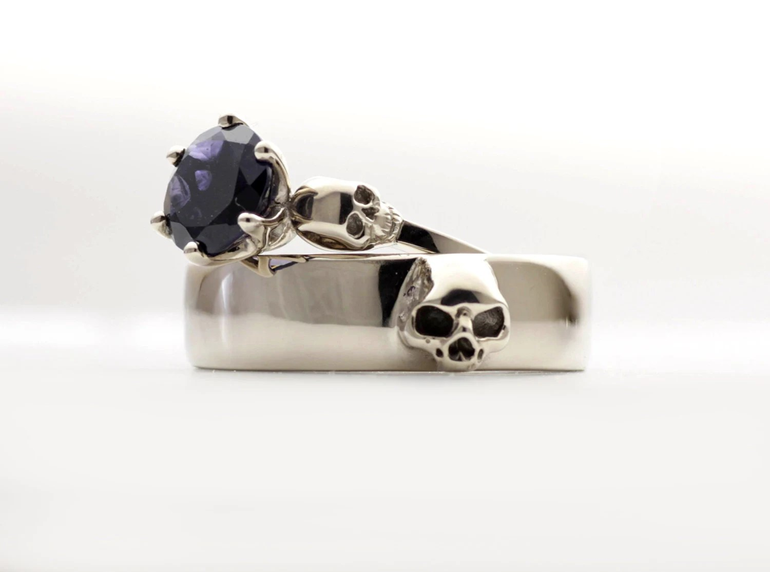 mens skull wedding ring white gold mens skull wedding rings Mens Skull Ring Psychobilly Wedding Band Wedding Set All Sizes gallery photo gallery photo gallery photo gallery photo gallery photo