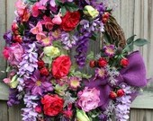 French Country Wreath, Sp...