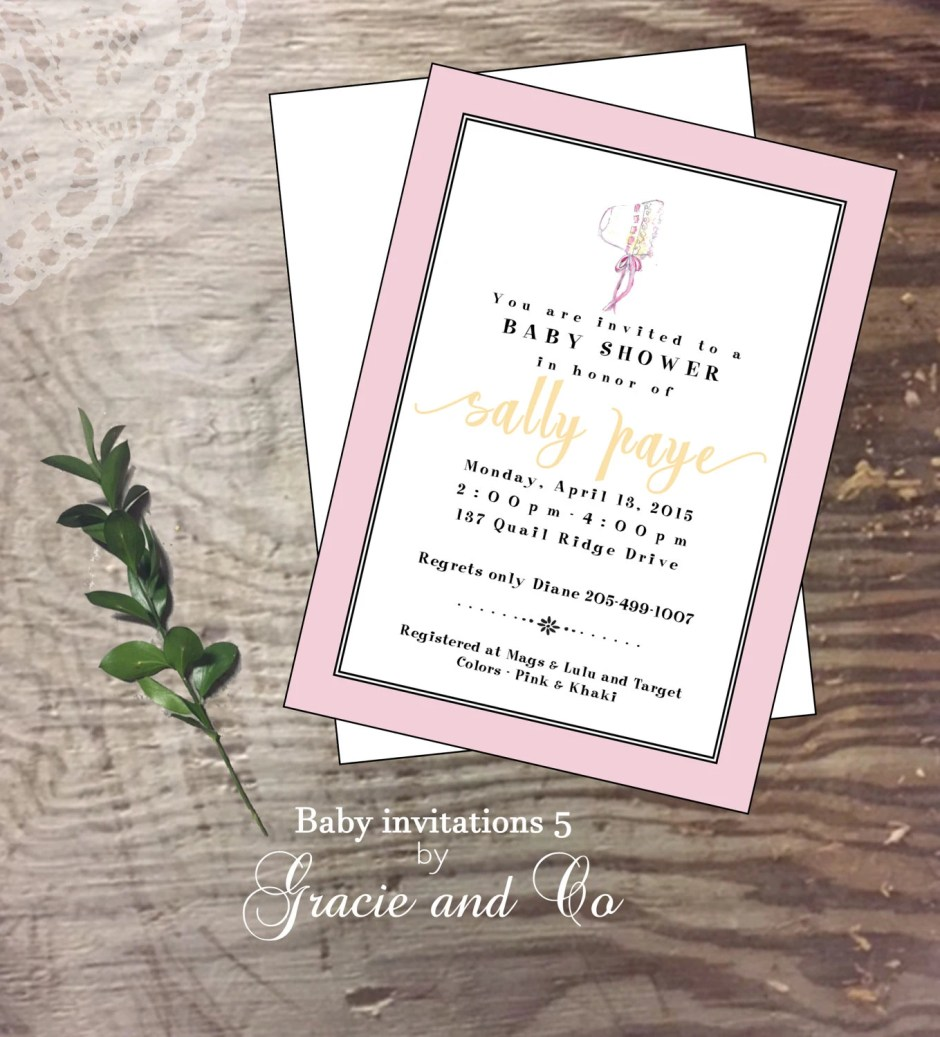 Baby shower invitation ne...