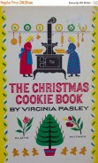 Baking Christmas Cookies vintage cookbook