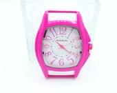 Ribbon Watch Face - Hot Pink