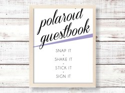 Small Of Polaroid Guest Book