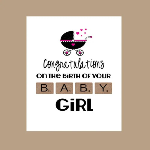 Medium Of Congratulations On Baby