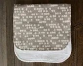 Natural Dotted Burp Cloth...