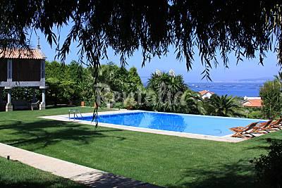 Villa de lujo en la Ria Arosa, a 150 m de la playa Pontevedra