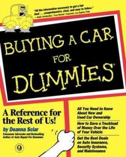 BARNES & NOBLE Auto Repair For Dummies by Deanna Sclar, Wiley, John