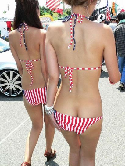 【若女達のハプニングエロ画像】今年の夏はもうそんなに暑いのぉ?ww 09