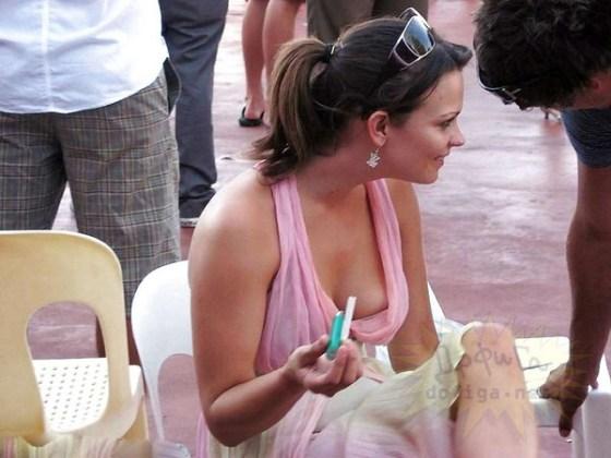 【外人さ~んのエロ画像】365日頭の中パーティーピーポーな外国人ハプニング画像集めてみましたww 06