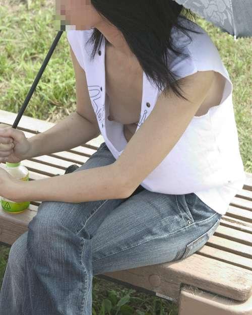 【女の子エロ画像】女の子たちの谷間パラダイス「ハプニング」画像集めてみましたww 05