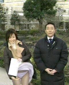 【ハプニング画像】ふわっと風が吹いた瞬間、ふわっとスカートがめくれ上がる! 10