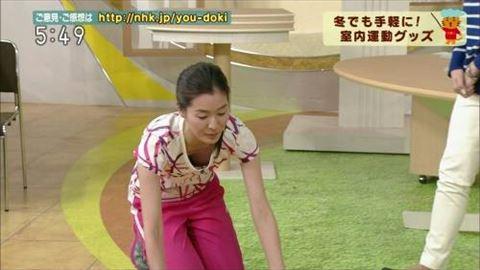 【放送事故画像】カメラの前でオッパイぷら~んってしてる女達ww 01
