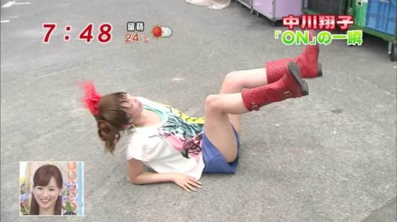 【パンチラキャプ画像】有名人のパンツがやたら滅多に映されてる最近のテレビwww 02