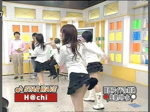 【パンチラキャプ画像】有名人のパンツがやたら滅多に映されてる最近のテレビwww 22