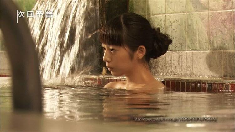【温泉キャプ画像】バスタオル一枚でテレビに出るタレント達の体がエロすぎやしませんか??ww 13