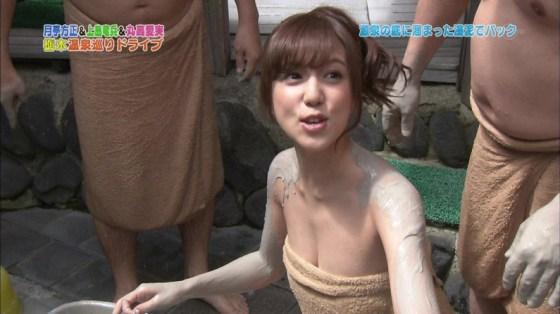 【温泉キャプ画像】温泉とかでこの格好されると物凄くオッパイ見たくてたまらなくなるよなwww 09